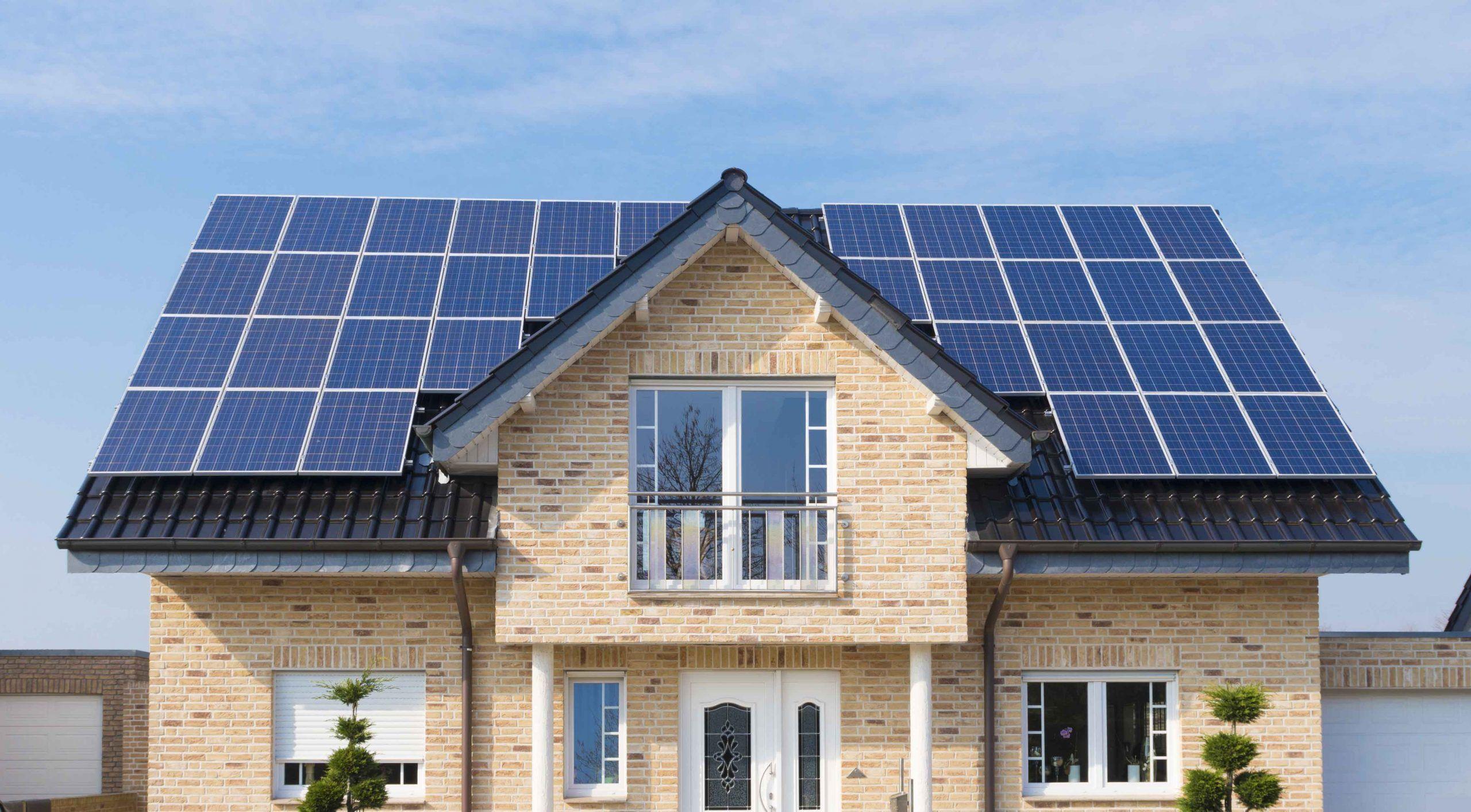 Solar Panel House1